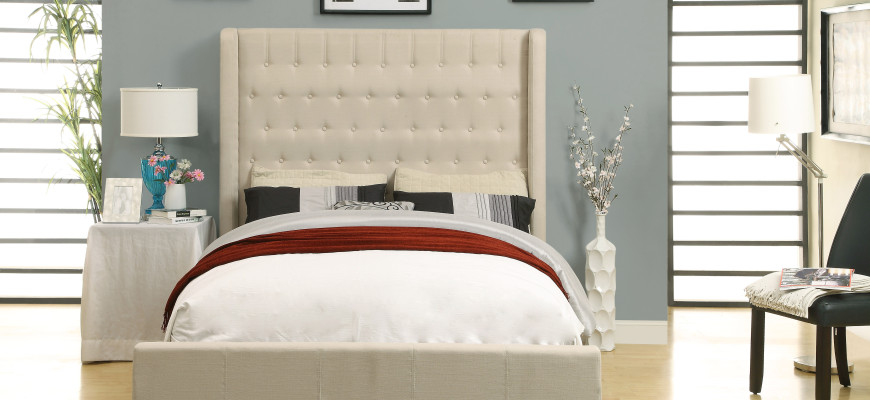 Looking to spruce up your bedroom? Try !inspire's Astoria bed