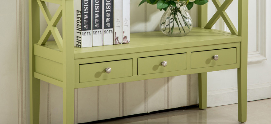 inspire home furnishings green table