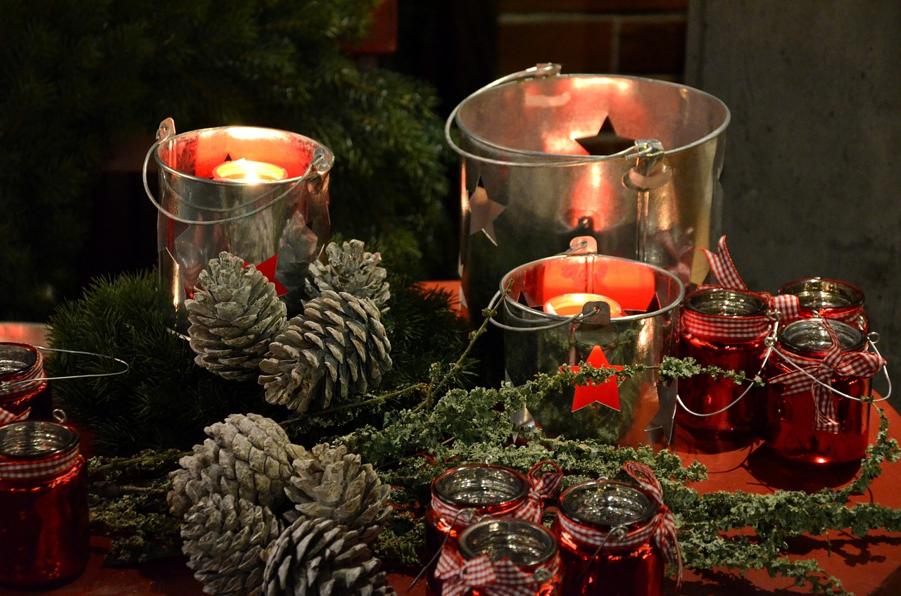 Festive Table Setting #3 Country Christmas & 3 Festive Table Settings That Will Impress Your Guests