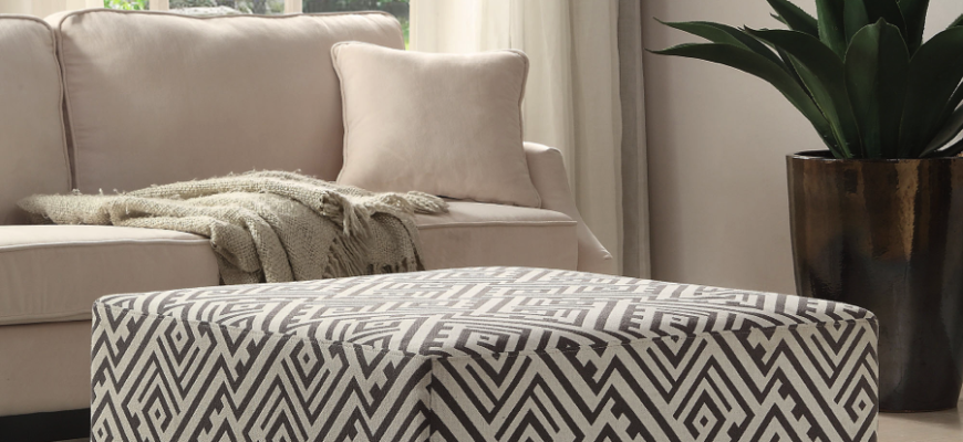 Bold and neutral accent pieces work in almost every space.