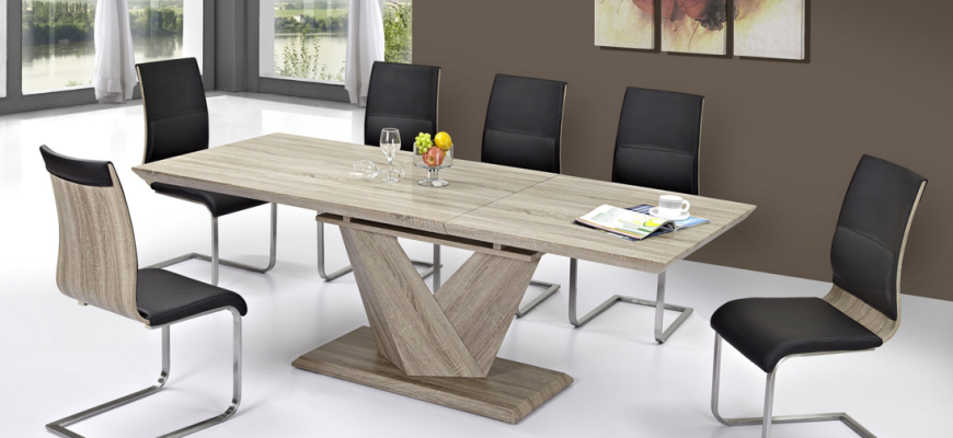 Eclipse Dining Table in Oak #3