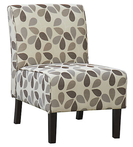Flora accent chair in beige