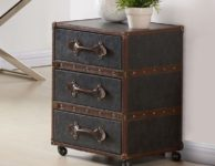 Esquire 3 Drawer Accent Table