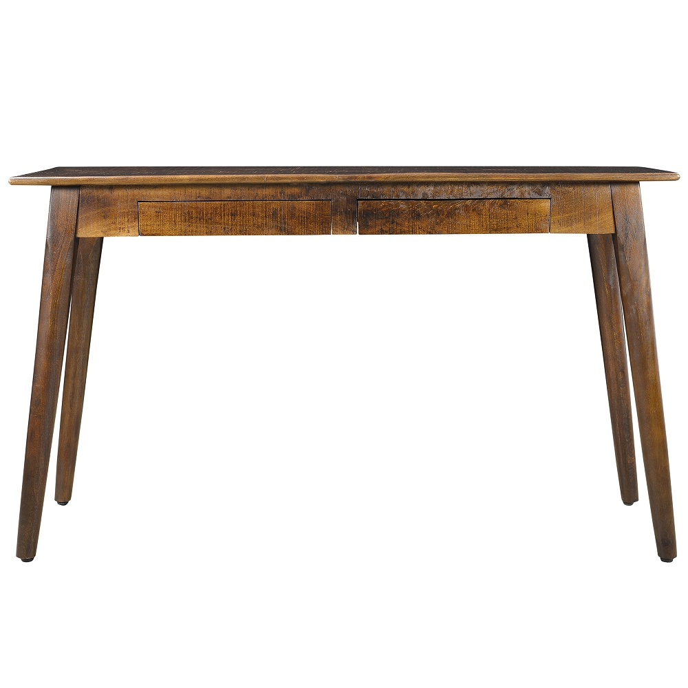 Marvelous Tal Console Table In Distressed Walnut